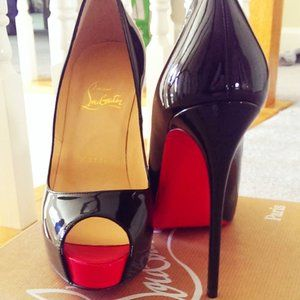 Christian Louboutin New Very Prive 120 PatentHeels